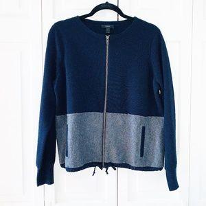 J Crew Merino Wool Sweater-Blazer M